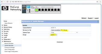 HP1810G Update 120