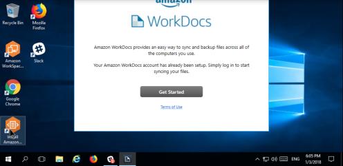 AWS Workspace S8-1