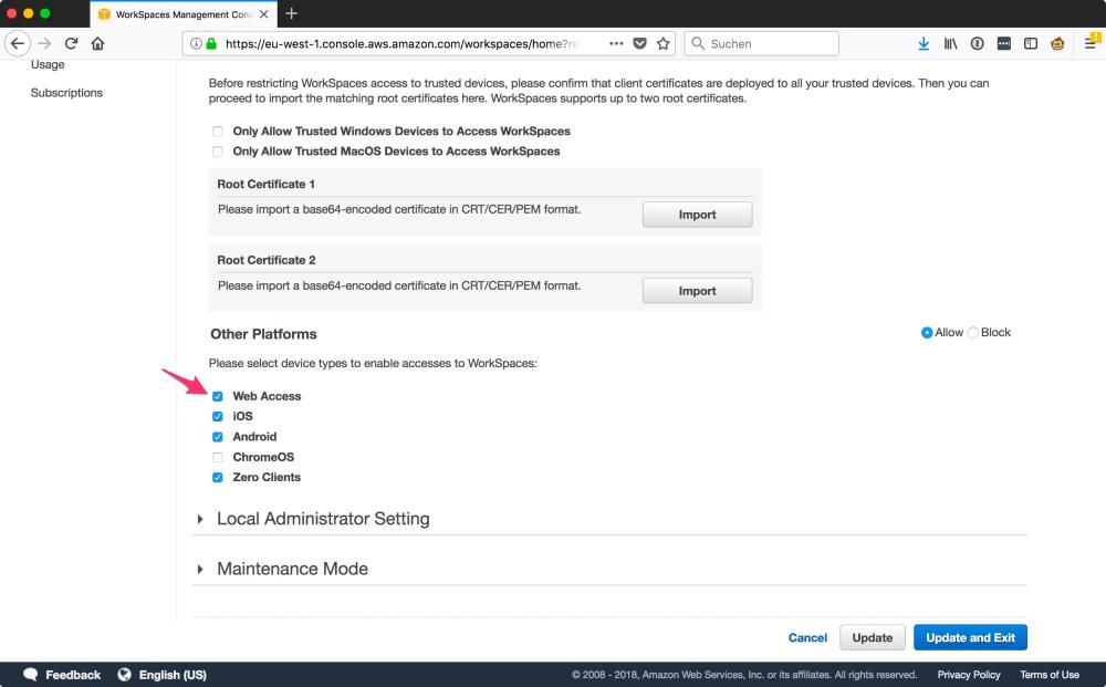 WorkSpaces_Management_Console1